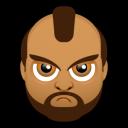 Male Face J1 Emoticon