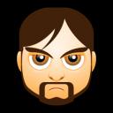 Male Face I1 Emoticon