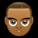 Male Face G5 Emoticon