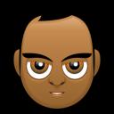 Male Face G3 Emoticon