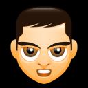 Male Face E4 Emoticon