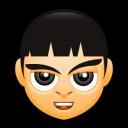Male Face D2 Emoticon