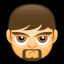 Male Face A5 Emoticon