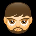 Male Face A2 Emoticon
