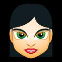 Female Face Fi 4 Emoticon