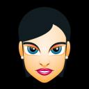 Female Face FH 4 Slim Emoticon