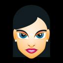 Female Face FH 3 Slim Emoticon