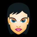 Female Face FH 2 Slim Emoticon