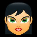 Female Face Fc 1 Emoticon