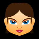 Female Face FB 5 Emoticon