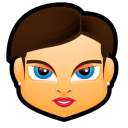 Female Face FB 4 Emoticon