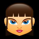 Female Face FB 3 Emoticon