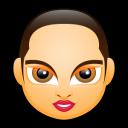 Female Face FA 5 Emoticon