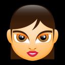 Female Face FA 4 Emoticon