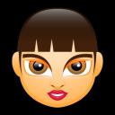 Female Face Fa 3 Emoticon