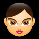 Female Face Fa 1 Emoticon