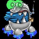 Robot Trash Full Emoticon