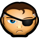 Avengers Nick Fury Emoticon
