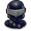 TV Snake Eyes Emoticon