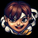Street Fighter Sakura Kasugano Emoticon
