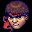 Street Fighter Ryu Emoticon