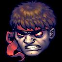 Street Fighter Dark Hadou Emoticon