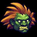 Street Fighter Blanka Emoticon