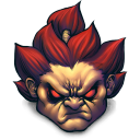 Street Fighter Akuma Emoticon