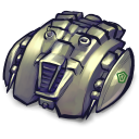 Spaceship Cylon Emoticon