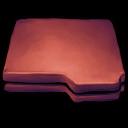 Folder Red Emoticon
