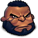 Final Fantasy Barret Wallace Emoticon