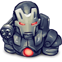 Comics War Machine Emoticon
