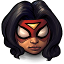 Comics Spiderwoman Emoticon