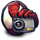Comics Spiderman Cam Emoticon