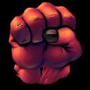 Comics Rulk Fist Emoticon