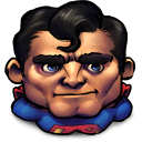 Comics Older Superman Emoticon