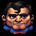 Comics Older Superman Emoticon