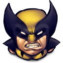 Comics Logan Emoticon