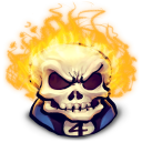 Comics Johnny Blaze Emoticon