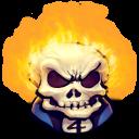 Comics Johnny Blaze Emoticon