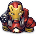 Comics Ironman Red Emoticon