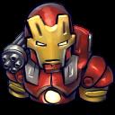 Comics Ironman Red Emoticon