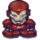 Comics Ironman Patriot Emoticon