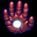 Comics Ironman Hand Emoticon