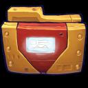 Comics Ironman Folder Emoticon