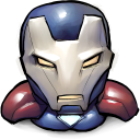 Comics Iron America Emoticon