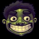 Comics Hulk Happy Emoticon