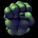 Comics Hulk Fist Emoticon