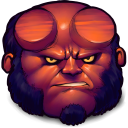 Comics Hellboy Emoticon