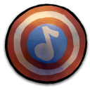 Comics Captain America Shield 2 Emoticon